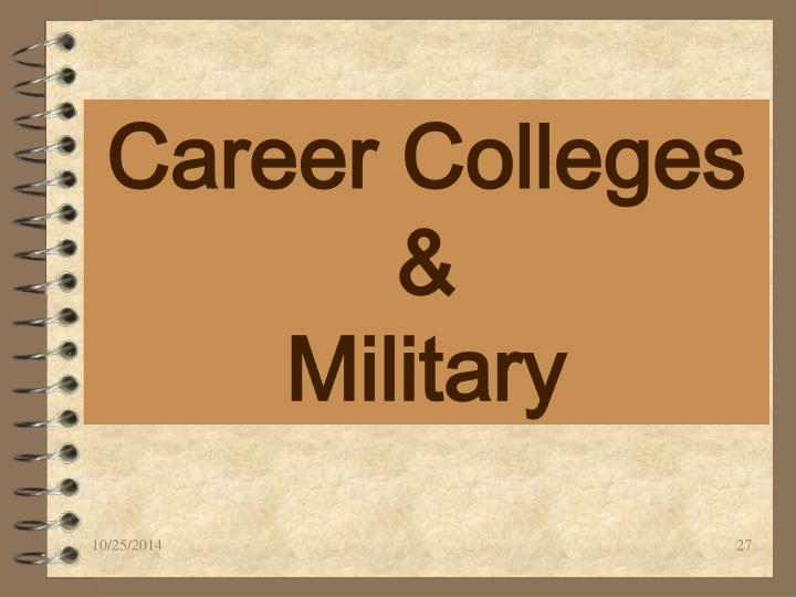 Career Colleges &