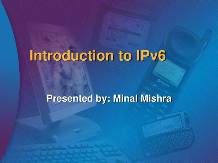 introduction to ipv6 n.