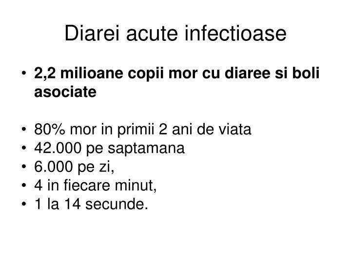 Diarei acute infectioase