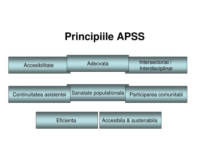 Principiile APSS
