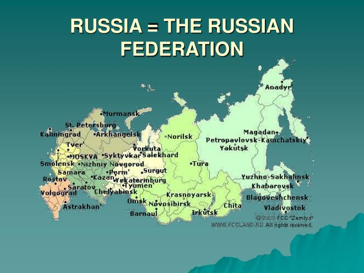 russia the russian federation n.