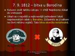 7 9 1812 bitva u borodina