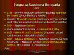 evropa za n apoleona bonaparta z pis