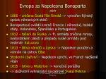evropa za n apoleona bonaparta z pis1