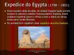 expedice do egypta 1798 1801