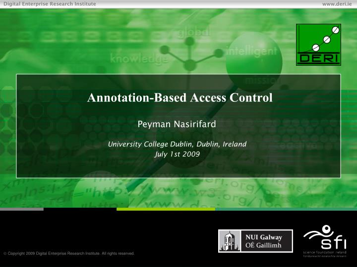 annotation based access control n.