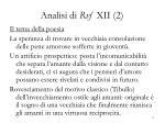 analisi di rvf xii 2