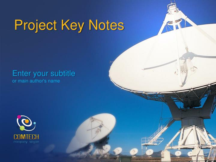 project key notes n.