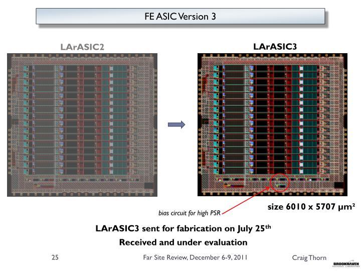 FE ASIC Version 3