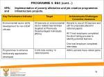 programme 5 b c cont5