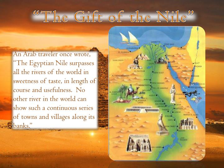 """""""The Gift of the Nile"""""""