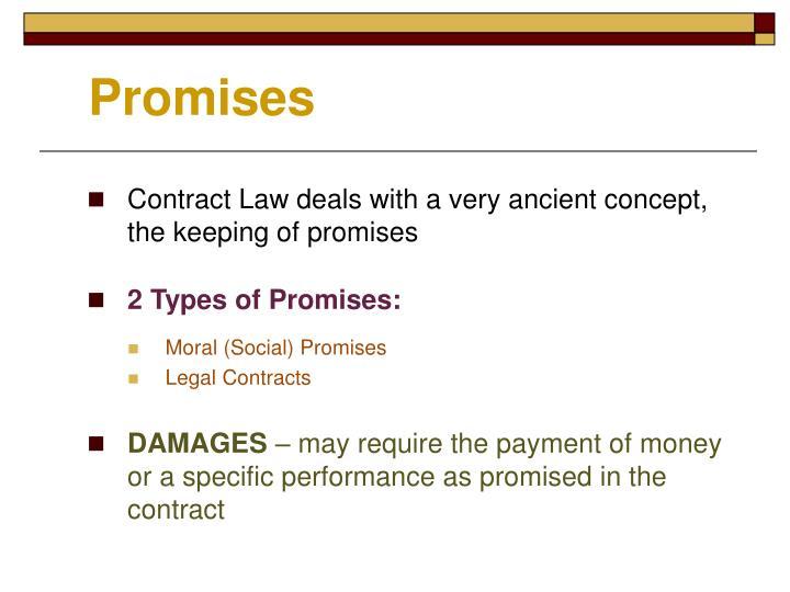 types of promises