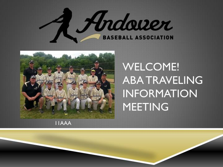 welcome aba traveling information meeting n.