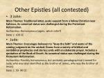 other epistles all contested2