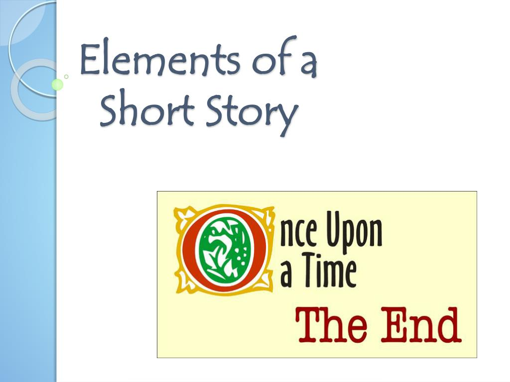 what are the different elements of a short story