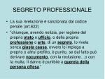 segreto professionale1