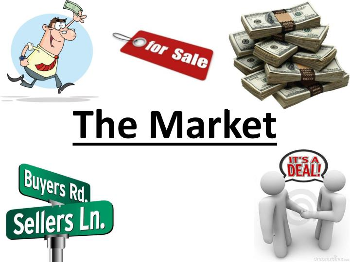 the market n.