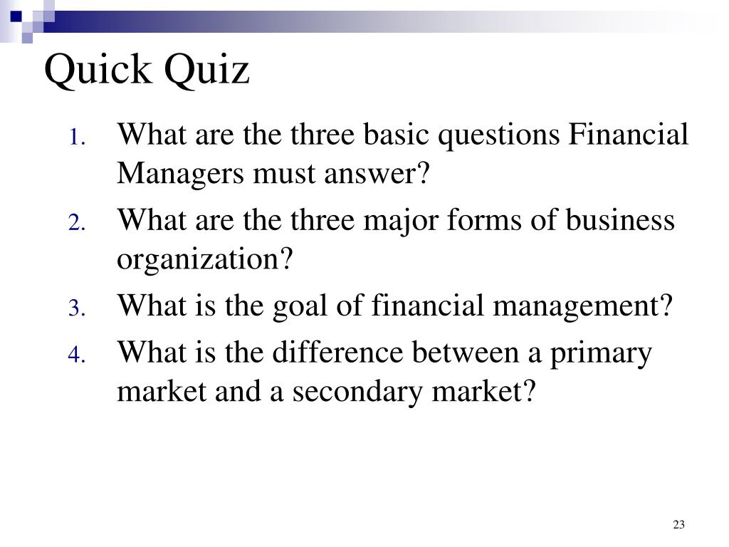 PPT - Introduction to Finance PowerPoint Presentation - ID