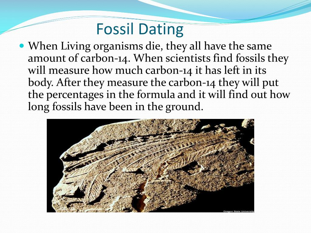 carbon dating can carbon dating occur in old fossils