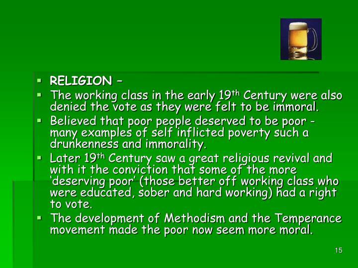 RELIGION –