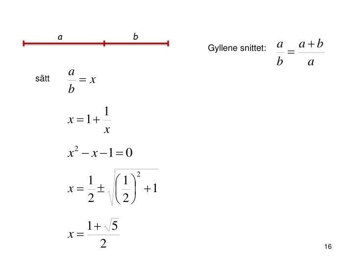 PPT - Vacker och spännande matematik PowerPoint Presentation - ID ... 1b6a2fd880ef9