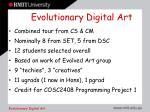 evolutionary digital art