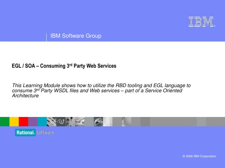 egl soa consuming 3 rd party web services n.
