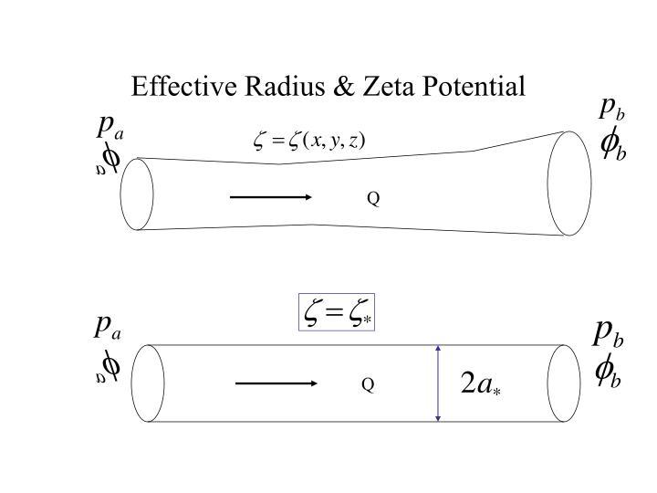 Effective Radius & Zeta Potential
