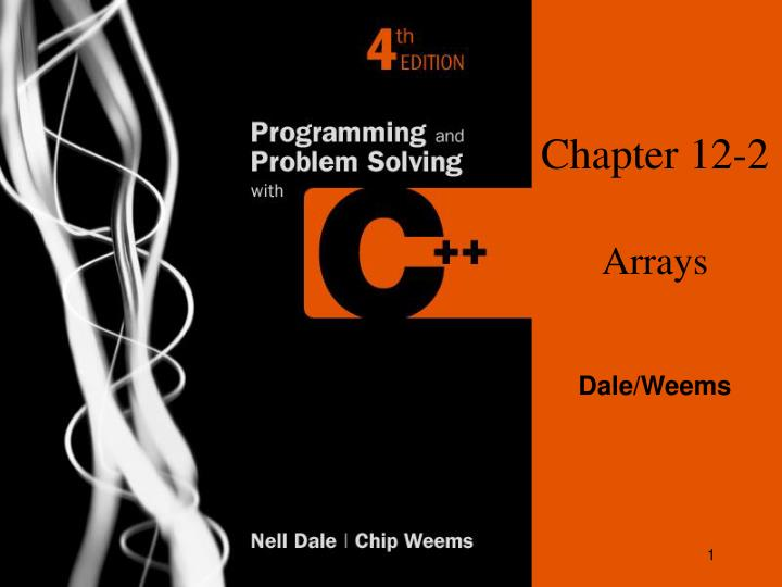 chapter 12 2 arrays n.