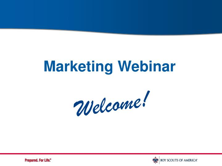 marketing webinar n.