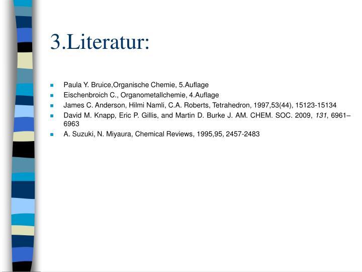 3.Literatur: