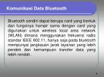 komunikasi data bluetooth