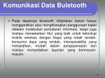 komunikasi data buletooth