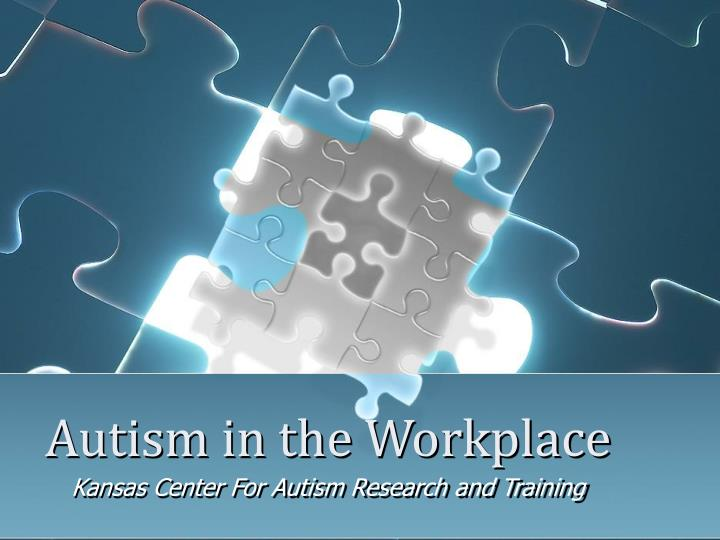 autism in the workplace n.