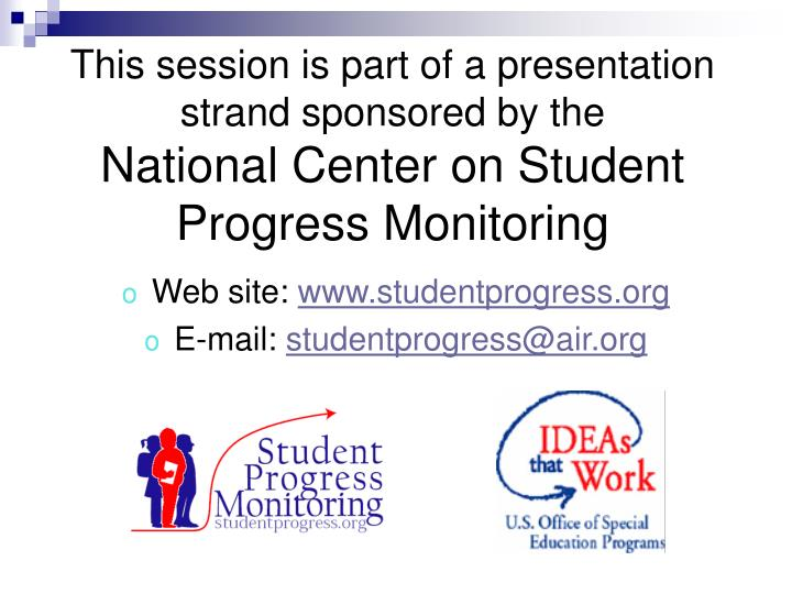 This session is part of a presentation strand sponsored by the
