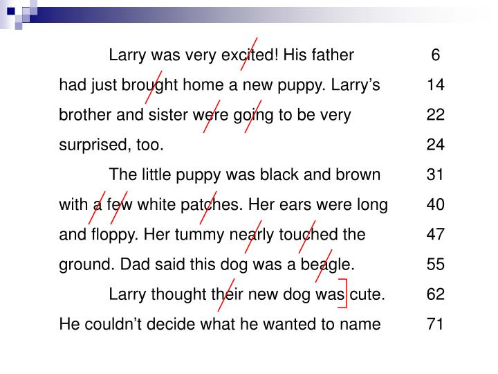 Larry was very excited! His father