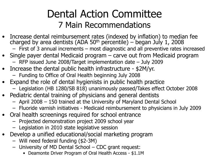 Dental Action Committee