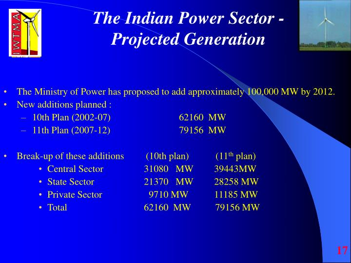 The Indian Power Sector -