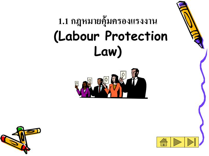 1 1 labour protection law n.