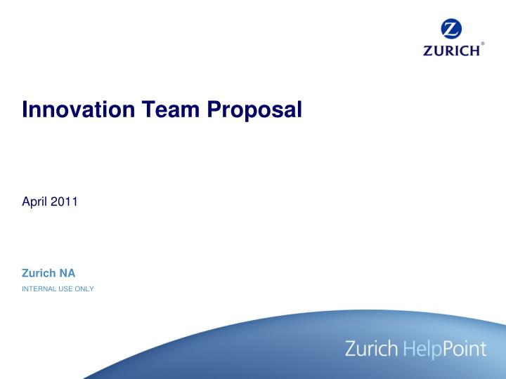 service innovation proposal Open innovation proposals at ideaspeak, we believe that sustainable innovation is key to the creation of a better world for all and we engage with partners who share this vision.