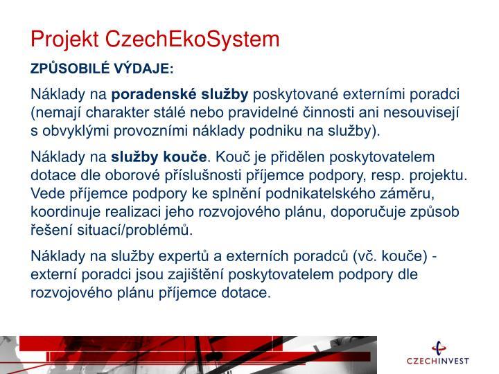 Projekt CzechEkoSystem