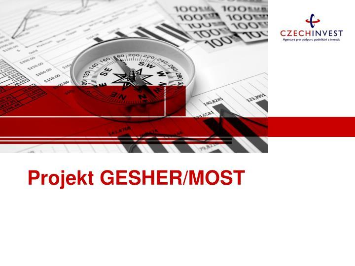 Projekt GESHER/MOST