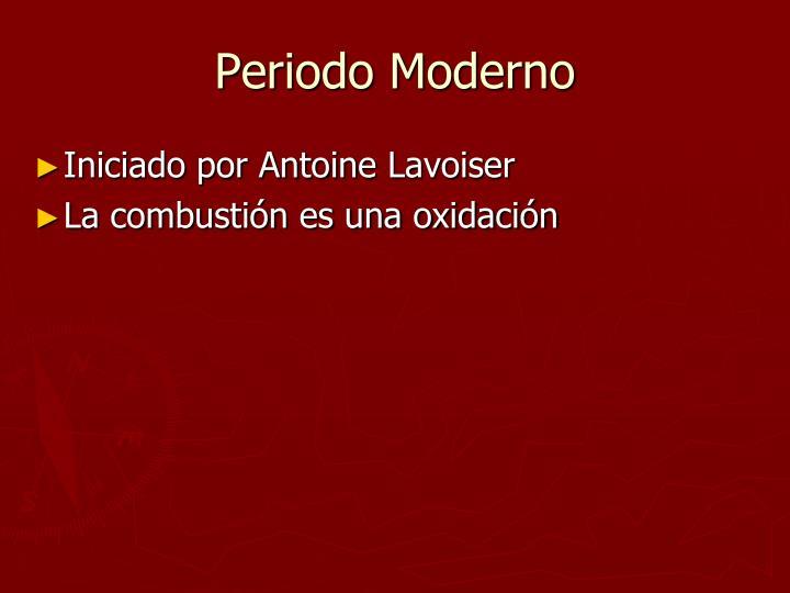 Periodo Moderno