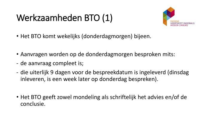 Werkzaamheden BTO (1)