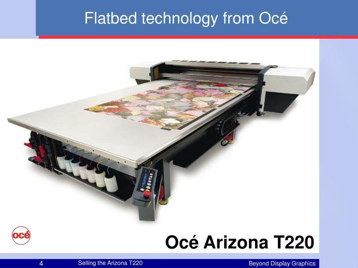 Flatbed technology from Océ