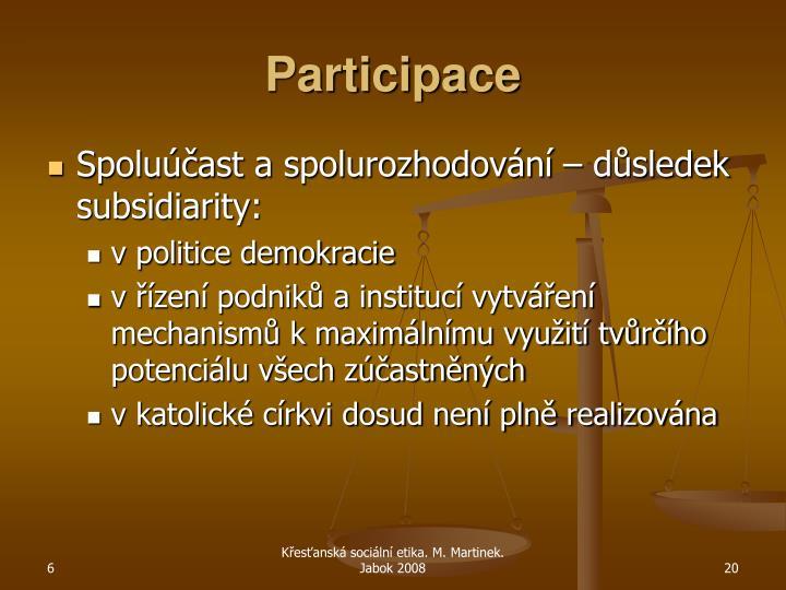 Participace