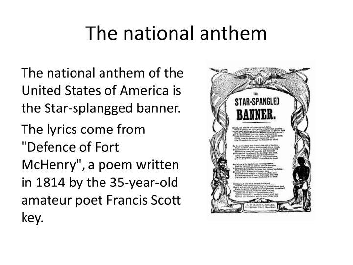 American National Anthem Lyrics