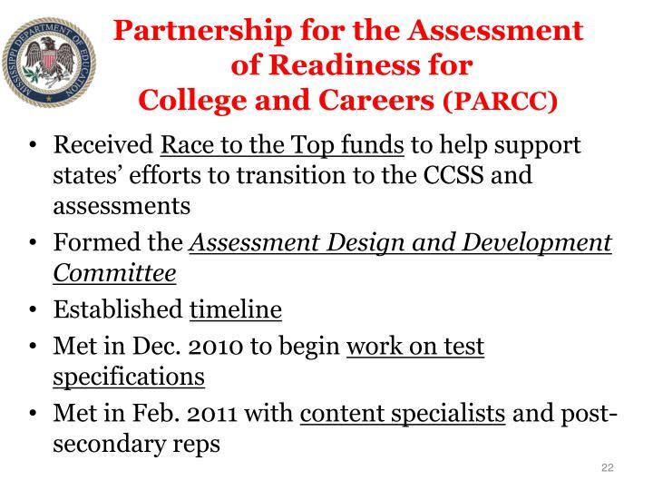 Partnership for the Assessment