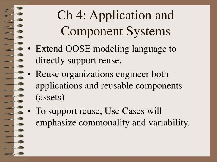 portable languages component reusability Why software reuse has failed historically  in quality and productivity there have certainly been successes, eg, sophisticated frameworks of reusable components are now available in oo languages running on many os platforms in general, however, these frameworks have focused on a relatively small number of domains, such as graphical user.