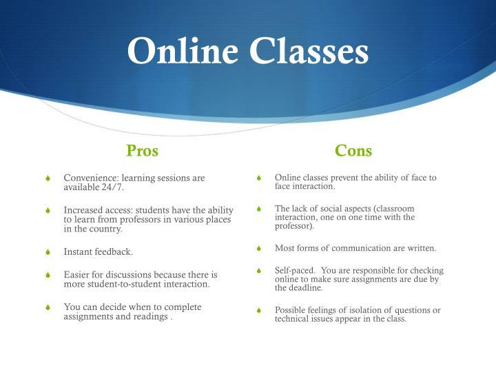 Online classes1